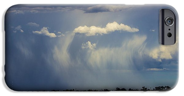 Nebraskasc iPhone 6 Case - Afternoon Nebraska Thunderstorm by NebraskaSC