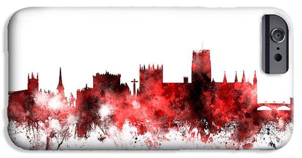 Durham City Iphone 6 Cases Fine Art America