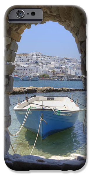 Opening iPhone Cases - Paros - Cyclades - Greece iPhone Case by Joana Kruse