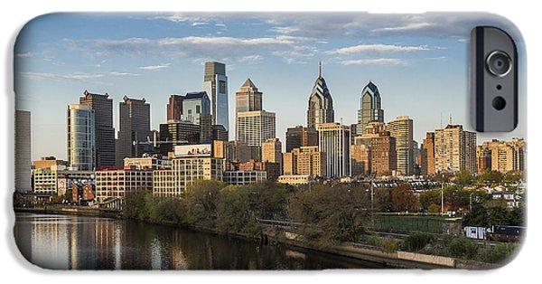 Pa iPhone Cases - Philadelphia Skyline iPhone Case by John Greim