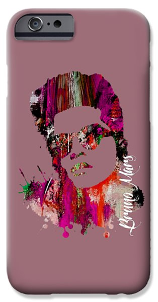 Bruno Mars Collection IPhone 6 Case by Marvin Blaine