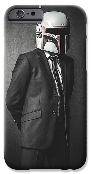 Star iPhone 6 Case - Star Wars Dressman by Marino Flovent