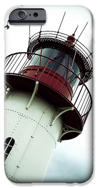 Solitary iPhone Cases - Lighthouse iPhone Case by Joana Kruse