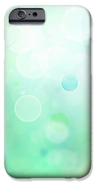 Bokeh iPhone Cases - Abstract background iPhone Case by Les Cunliffe