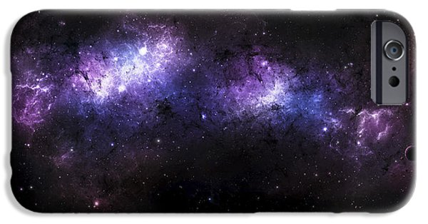 Stellar iPhone Cases - A Massive Nebula Covers A Huge Region iPhone Case by Justin Kelly