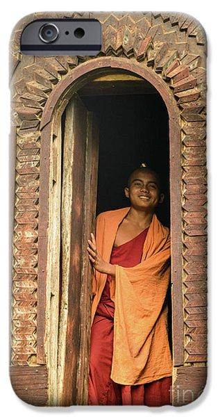 A Monk 4 IPhone 6 Case