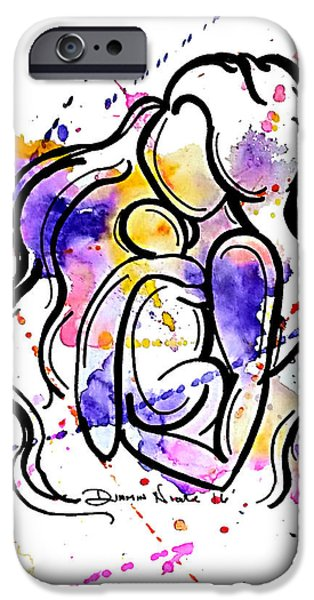 A Mother's Love IPhone 6 Case by Diamin Nicole