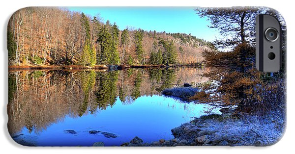 IPhone 6 Case featuring the photograph A November Morning On The Pond by David Patterson
