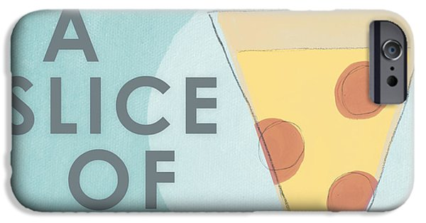 Beige iPhone Cases - A Slice of Life iPhone Case by Linda Woods