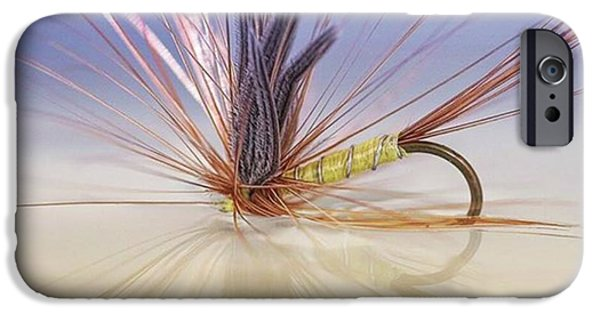 iPhone 6 Case - A Trout Fly (greenwell's Glory) by John Edwards