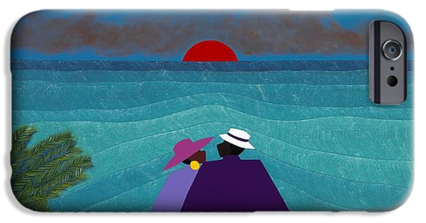 iPhone 6 Case - A Turks And Caicos Sunset by Synthia SAINT JAMES