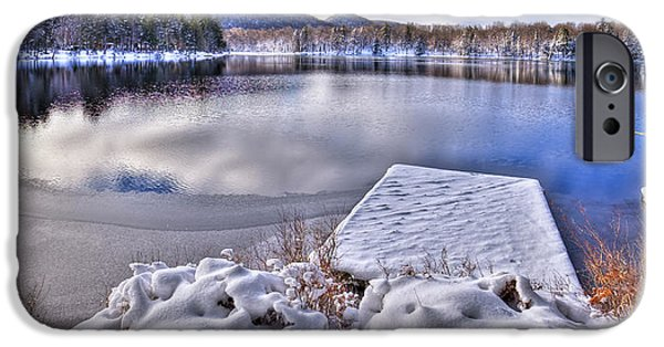 IPhone 6 Case featuring the photograph A Winter Day On West Lake by David Patterson