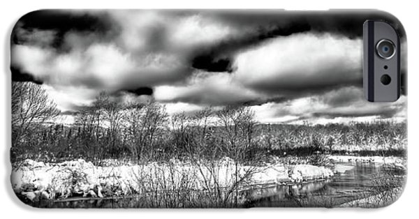 IPhone 6 Case featuring the photograph A Winter Panorama by David Patterson