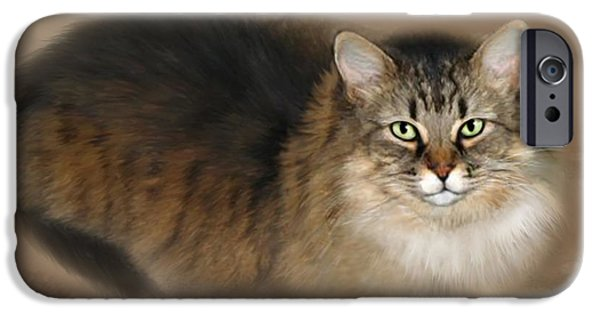 Bhymer iPhone Cases - Abby iPhone Case by Barbara Hymer