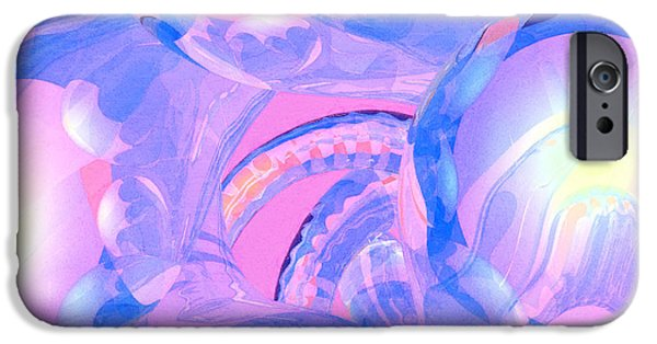 Best Sellers -  - Virtual iPhone Cases - Abstract Number 7 iPhone Case by Peter J Sucy