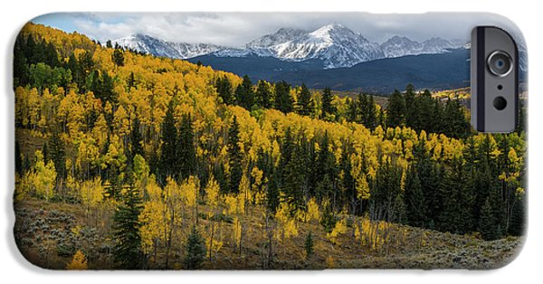IPhone 6 Case featuring the photograph Acorn Creek Autumn by Aaron Spong