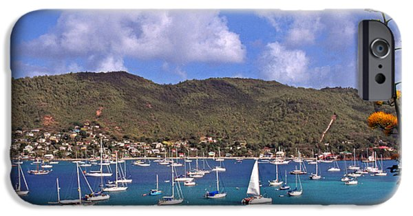 St Elizabeth iPhone Cases - Admiralty Bay iPhone Case by Thomas R Fletcher