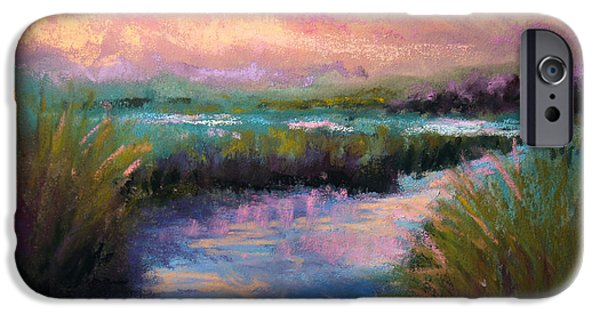 Sunset Pastels iPhone Cases - After the Rain iPhone Case by Susan Jenkins