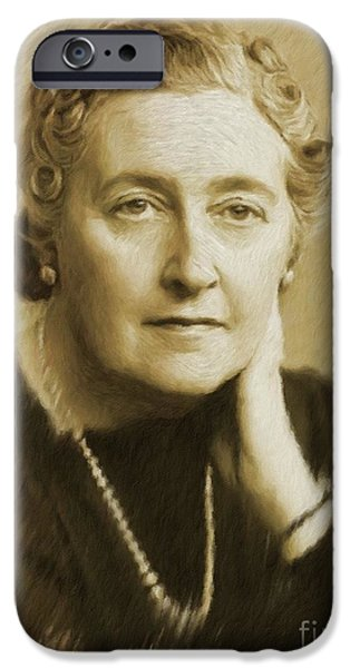 best authentic 8b01f 6542d Agatha Christie iPhone 6 Cases   Fine Art America