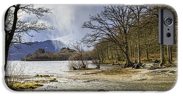 IPhone 6 Case featuring the photograph All Seasons At Loch Lomond by Jeremy Lavender Photography