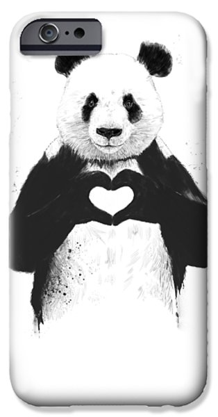 iPhone 6 Case - All You Need Is Love by Balazs Solti