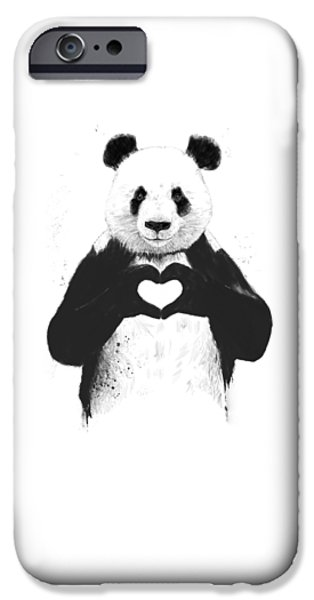 All You Need Is Love IPhone 6 Case by Balazs Solti