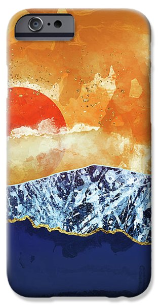 Landscapes iPhone 6 Case - Amber Dusk by Katherine Smit