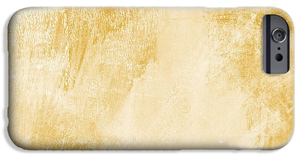 Contemporary iPhone 6 Case - Amber Waves by Linda Woods