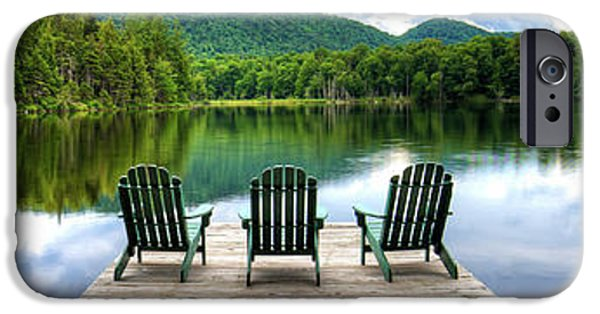 IPhone 6 Case featuring the photograph An Adirondack Panorama by David Patterson