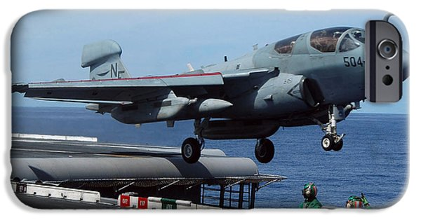 Electronic iPhone Cases - An Ea-6b Prowler Launches iPhone Case by Stocktrek Images