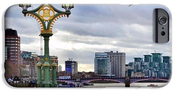 London iPhone 6 Case - An Empty Westminster Bridge • #london by Carlos Alkmin