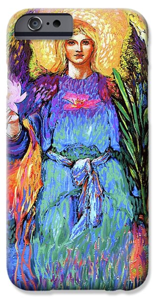 Figurative iPhone 6 Case - Angel Love by Jane Small