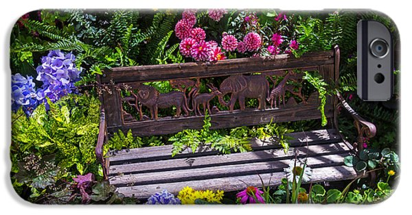 Ironwork iPhone 6 Case - Animal Bench by Garry Gay