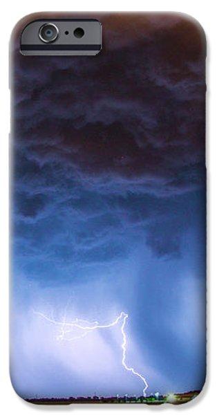 Nebraskasc iPhone 6 Case - Another Impressive Nebraska Night Thunderstorm 008/ by NebraskaSC