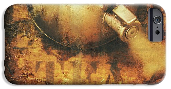 Antique Old Tea Metal Sign. Rusted Drinks Artwork IPhone 6 Case
