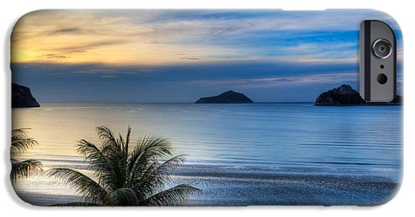 Thailand iPhone Cases - Ao Manao Bay iPhone Case by Adrian Evans