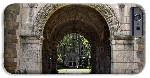 Best Sellers -  - Facade iPhone Cases - Archway To Education iPhone Case by Richard Gregurich