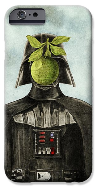 Blue iPhone 6 Case - Son Of Darkness by Eric Fan
