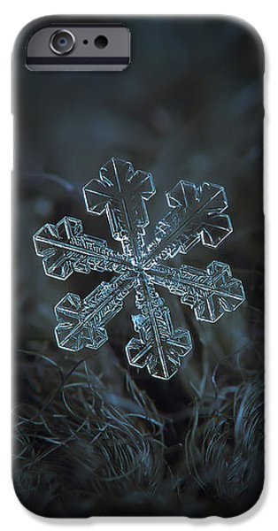 Snowflake Photo - Vega IPhone 6 Case
