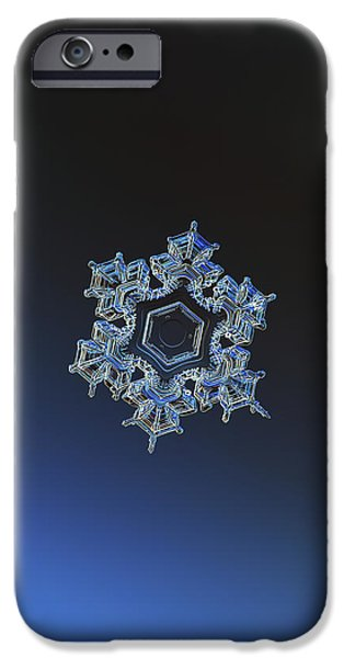 Snowflake Photo - Spark IPhone 6 Case