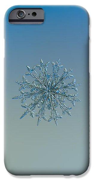 Snowflake Photo - Twelve Months IPhone 6 Case