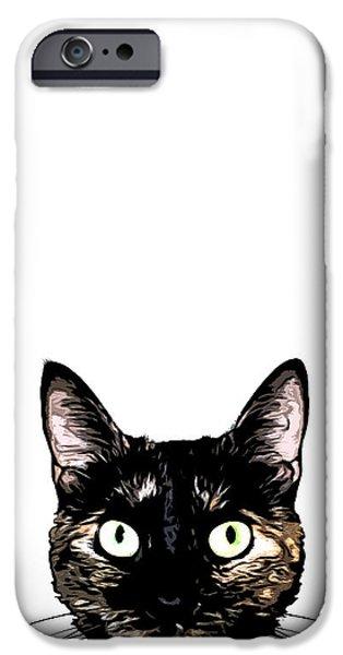 Peeking Cat IPhone 6 Case