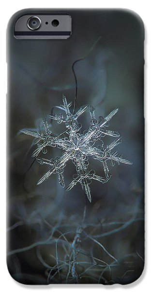Snowflake Photo - Rigel IPhone 6 Case