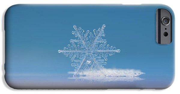 Snowflake Photo - Cloud Number Nine IPhone 6 Case