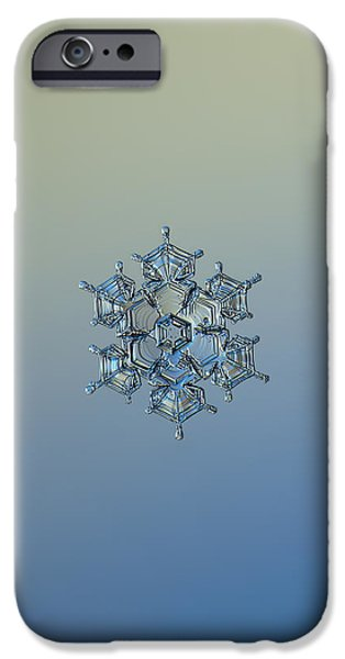 Snowflake Photo - Flying Castle Alternate IPhone 6 Case