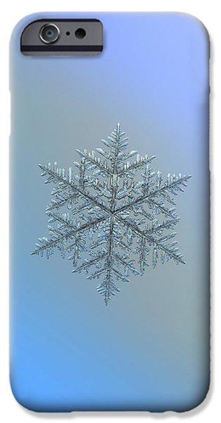 Snowflake Photo - Majestic Crystal IPhone 6 Case