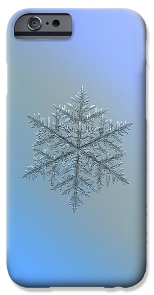Snowflake Photo - Majestic Crystal IPhone 6 Case