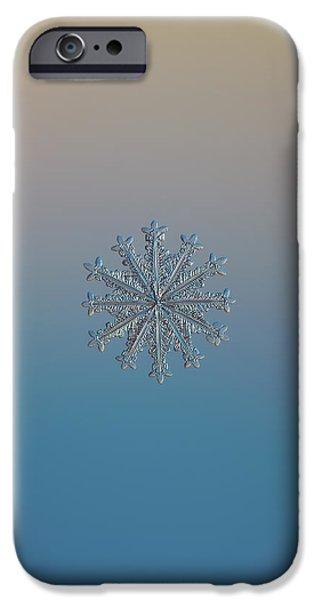 Snowflake Photo - Wheel Of Time IPhone 6 Case