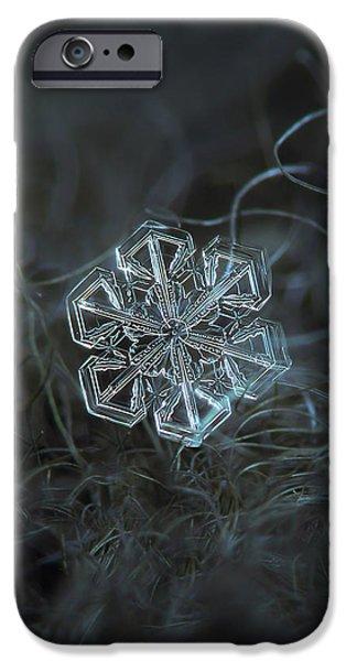 Snowflake Photo - Alcor IPhone 6 Case