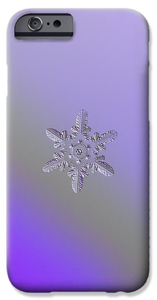 Snowflake Photo - Heart-powered Star IPhone 6 Case